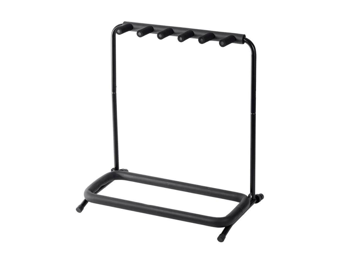 Stage Right by Monoprice Multi Guitar Stand Folding 5 for Acoustic and Electric Guitar or Bass (Open Box)-Large-Image-1