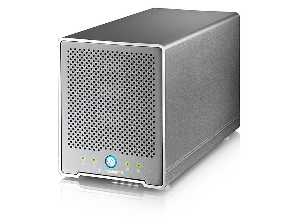 Akitio Thunderbolt 3 Quad Mini, Compatible with Mac OS X High Sierra and Windows-Large-Image-1