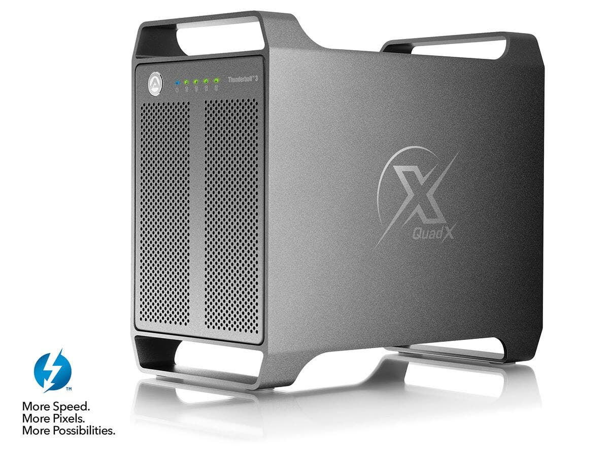 Akitio Thunderbolt 3 Quad X, Compatible with Mac OS X High Sierra and Windows-Large-Image-1