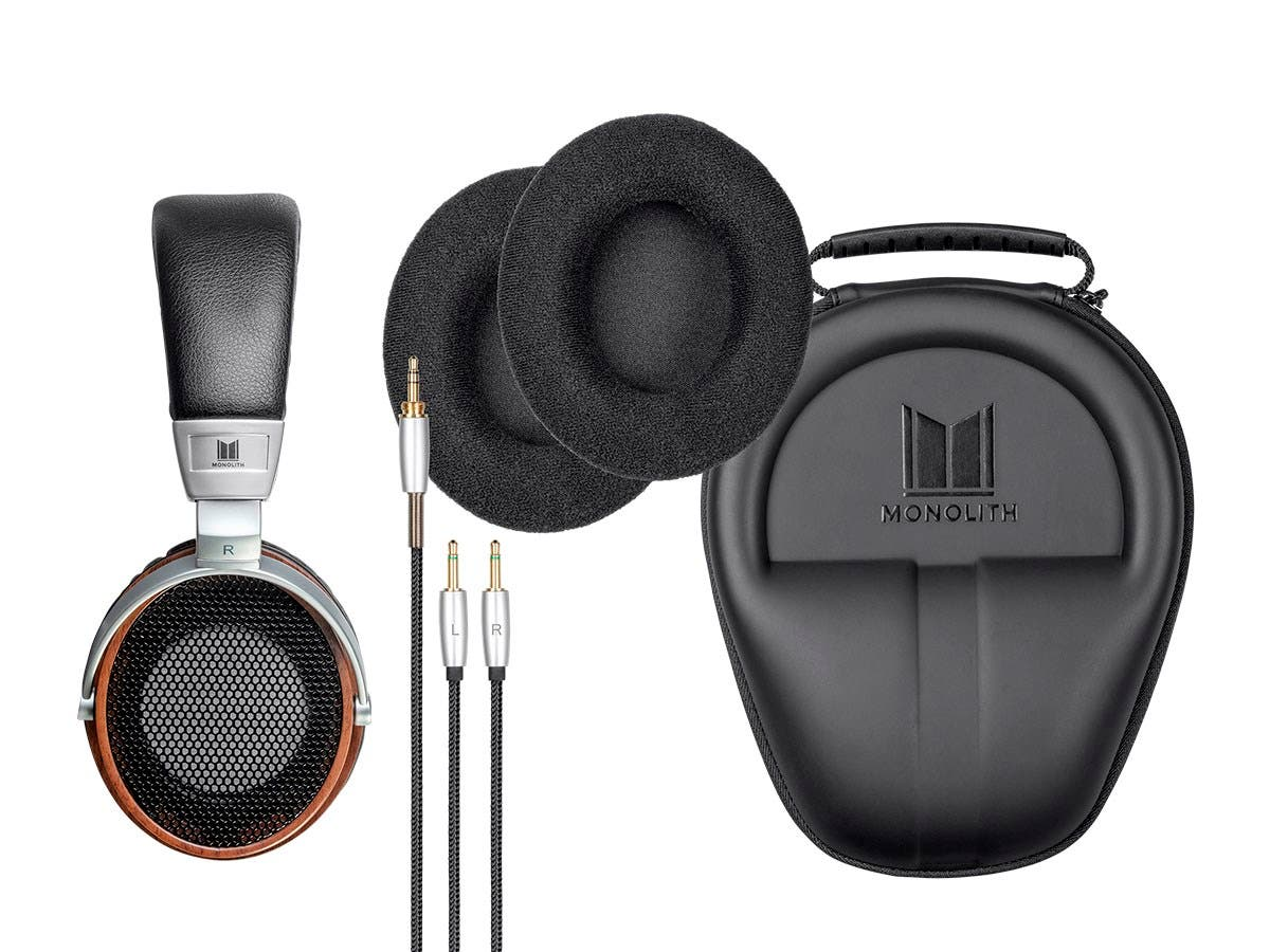 Monolith by Monoprice M600 Open Back Over Ear Headphones-Large-Image-1