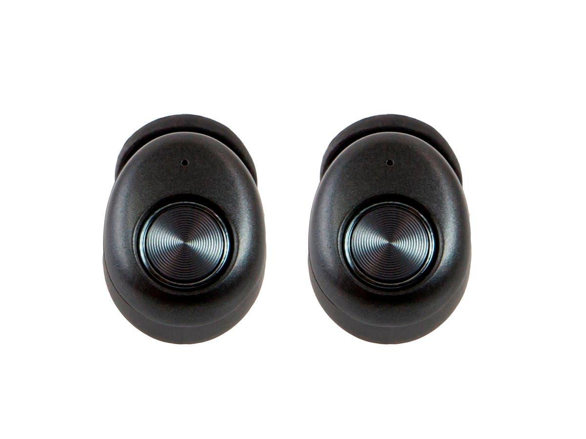 Monoprice True Wireless Earphones IPX4 Sweatproof, Bluetooth 5, Mic