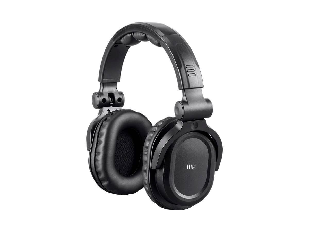 premium hi fi dj style over the ear pro bluetooth headphones with mic and qualcomm aptx support. Black Bedroom Furniture Sets. Home Design Ideas