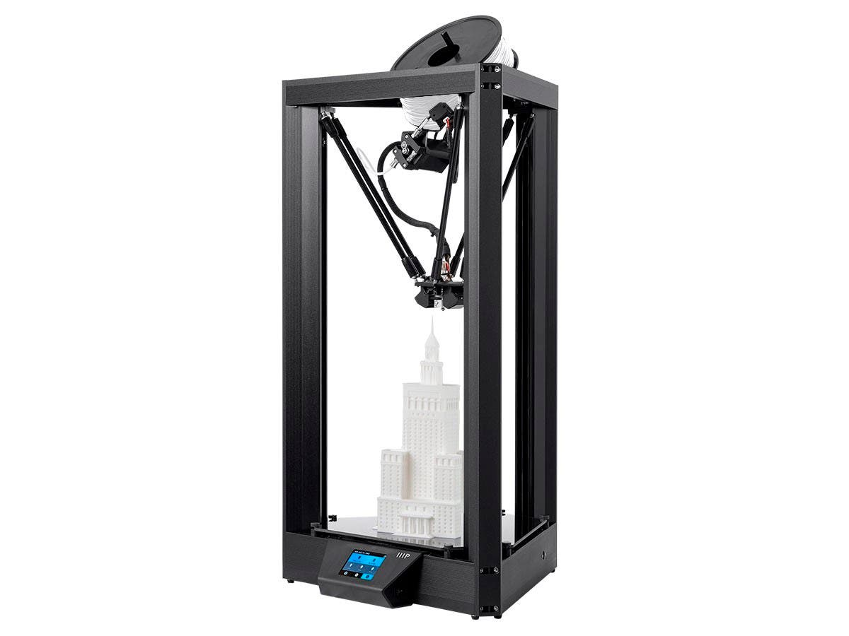 Monoprice MP Delta Pro 3D Printer, Auto Level, Wi-Fi, Silent Drive
