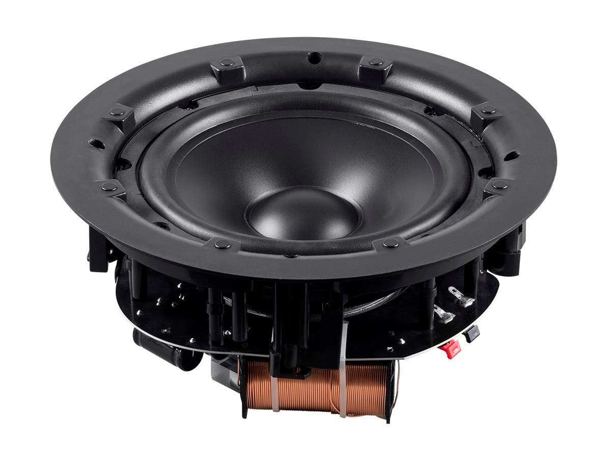 Monoprice Aria Ceiling Speaker 8 Inch Subwoofer With Dual Voice Coil Parallel Wiring On Speakers In Series Each