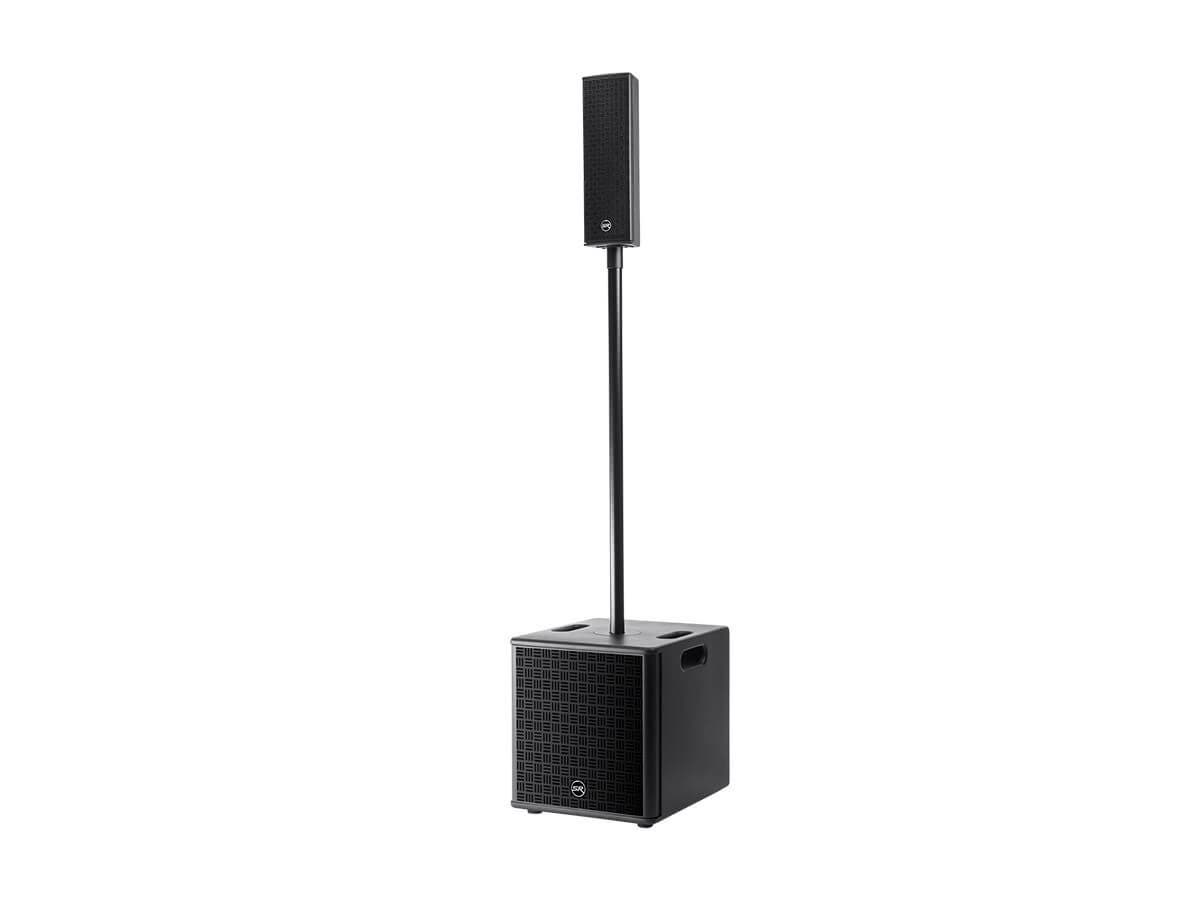 Stage Right by Monoprice StreamLine 800W Column Array Sound System with 2-Channel Mixer (Open Box)-Large-Image-1