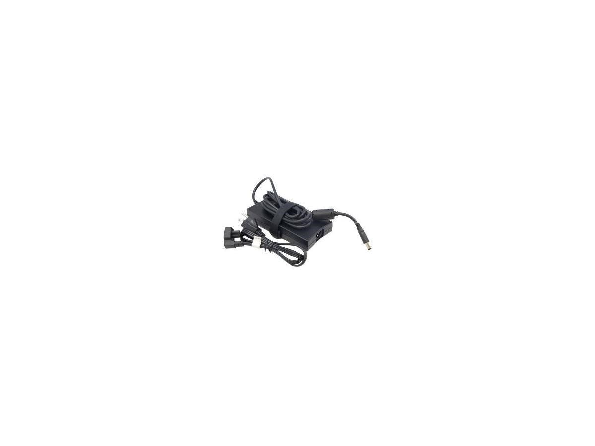 Dell 130-Watt 3-Prong AC Adapter Whith 6ft Power Cord - 130 W Output Power - 120 V AC, 230 V AC Input Voltage - 19.5 V DC Output Voltage - 6.70 A Output Current-Large-Image-1