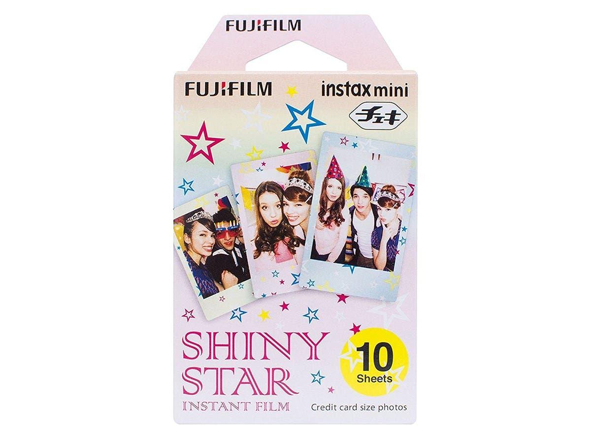 Fujifilm Instax Mini Shiny Star Film - ISO 800 - SHINY STAR 3PK KIT-Large-Image-1