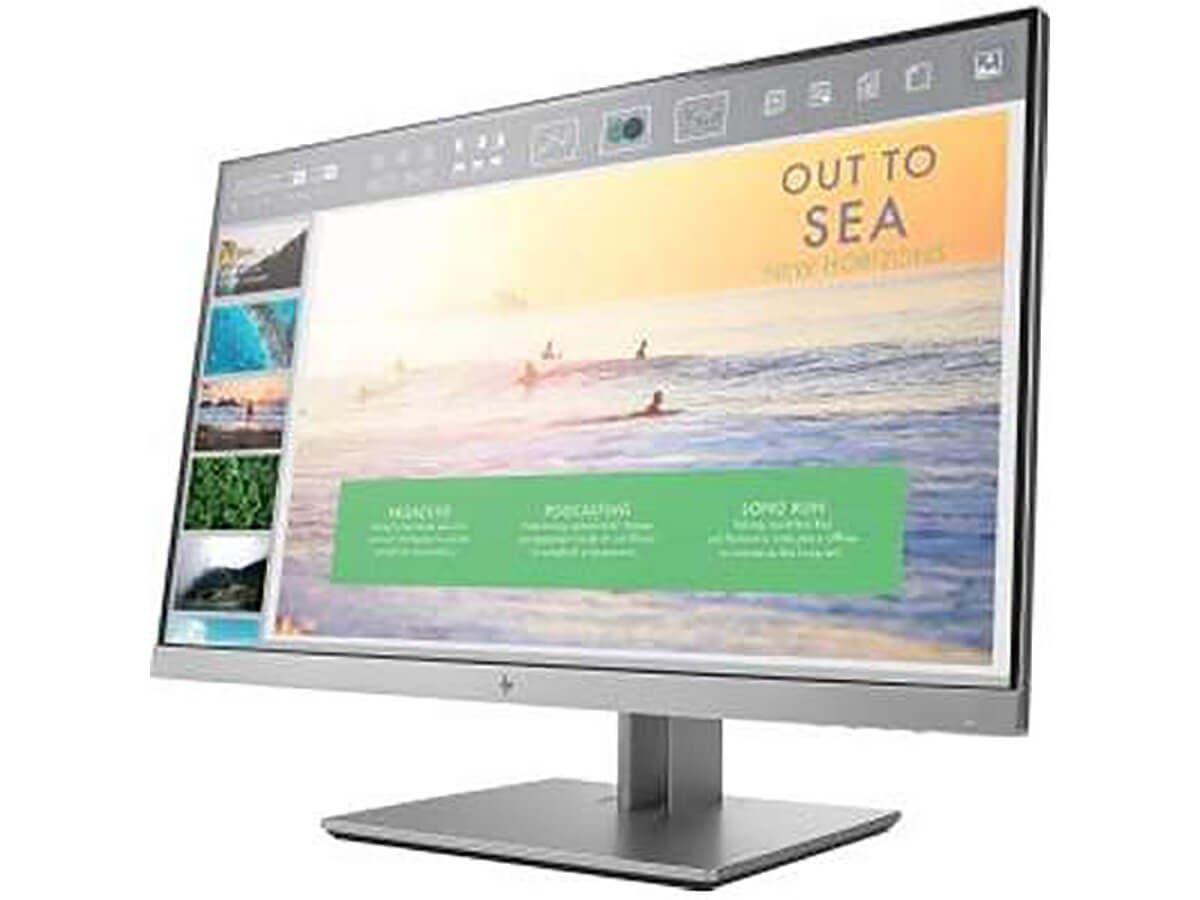 "HP Smart Buy 23"" EliteDisplay E233 1920x1080 H/S/P/T VGA/DP/HDMI - 1FH46A8#ABA-Large-Image-1"