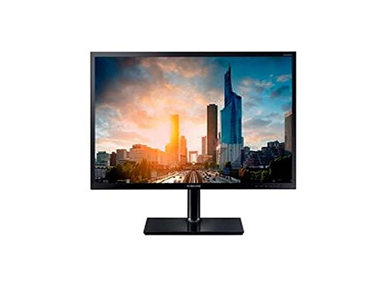 Samsung SH65 Series Led Monitor 27 Inch 1080P 250 Cd/M2 1000:1 5 Ms Hdmi Vga Displayport Black - S27H650FDN-Large-Image-1