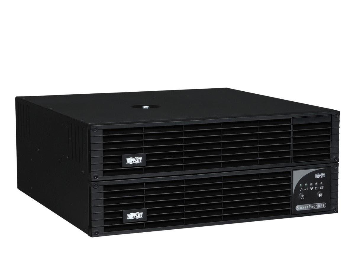 Tripp Lite UPS Smart 2200VA 1900W Rackmount AVR 120V Pure Sine Wave USB DB9 4U for Telecom - 2200VA/1900W - 11 Minute Full Load - 4 x NEMA 5-15/20R, 4 x NEMA 5-15R-Large-Image-1