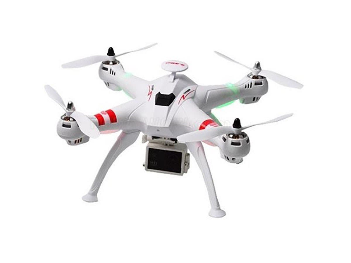 WorryFree Gadgets RC Brushless Drone with 10MP HD Live Camera, WiFi and 1000W Motor 51CM Large Quadcopter 6Axis 2.4GHz - DRONE-X16-WHT-Large-Image-1