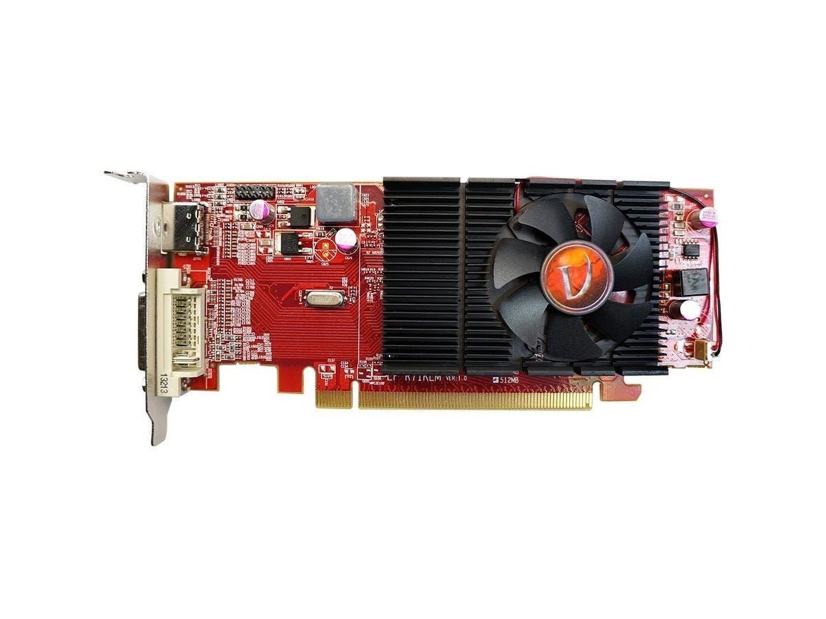 Visiontek Radeon HD 4350 Graphics Card - ATi Radeon HD 4350 - 512MB DDR2 SDRAM 64bit - PCI Express 2.0-Large-Image-1