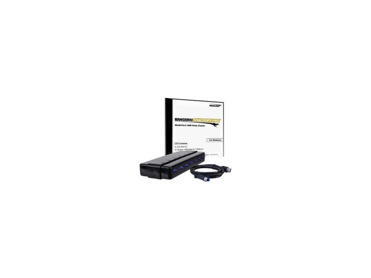 Kanguru Copy Pro USB3.0 With USB3.0 Hub-Large-Image-1