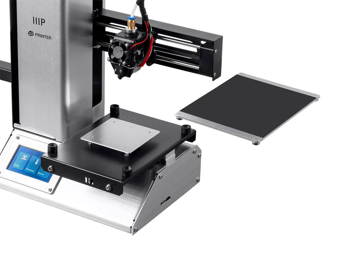 Monoprice Mp Select Mini Pro 3d Printer Aluminum With Auto Leveling