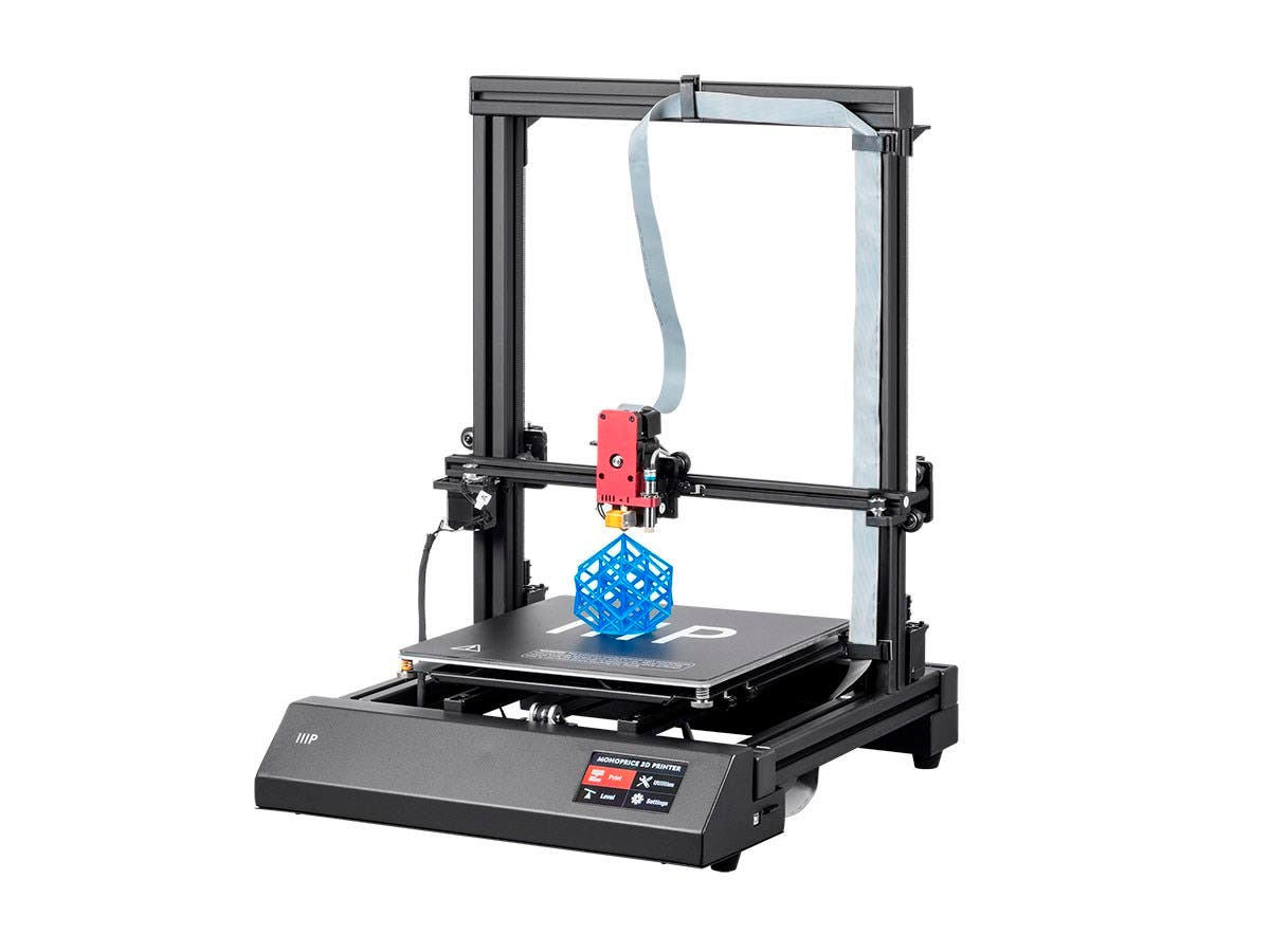 Monoprice MP Maker Pro Mk.1 3D Printer, Auto Level, Touch Screen, 300x300x400mm-Large-Image-1