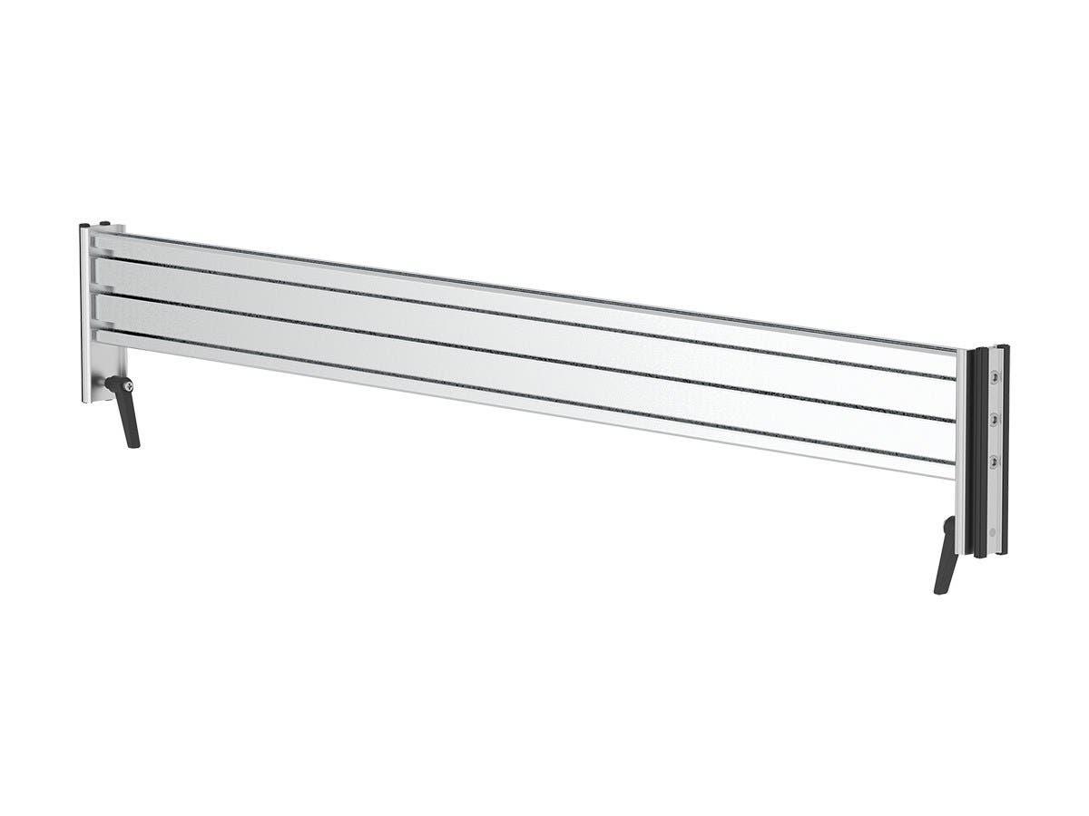 Workstream by Monoprice Slat Desk System, Horizontal Rail-Large-Image-1