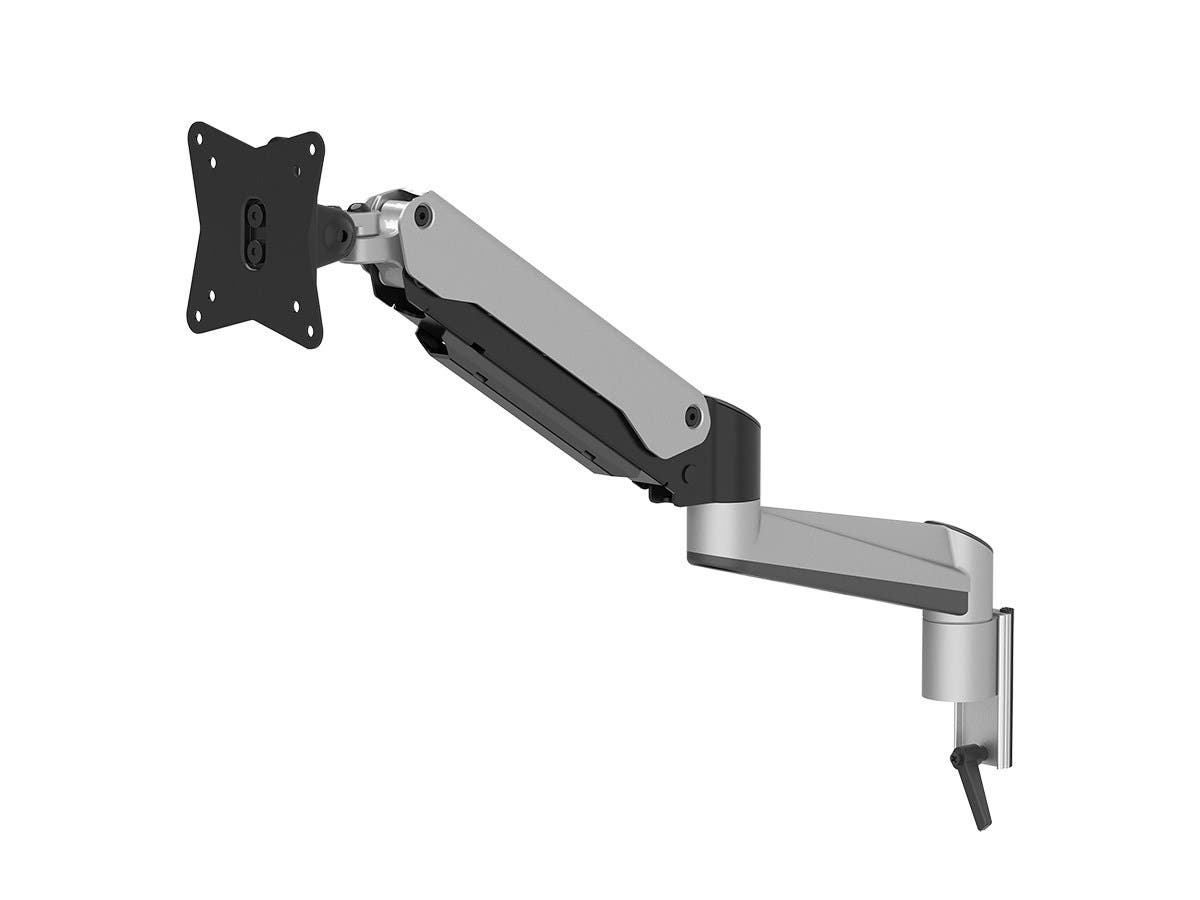 Workstream by Monoprice Slat Desk System, Fully Adjustable Gas Spring Monitor End-Mount-Large-Image-1