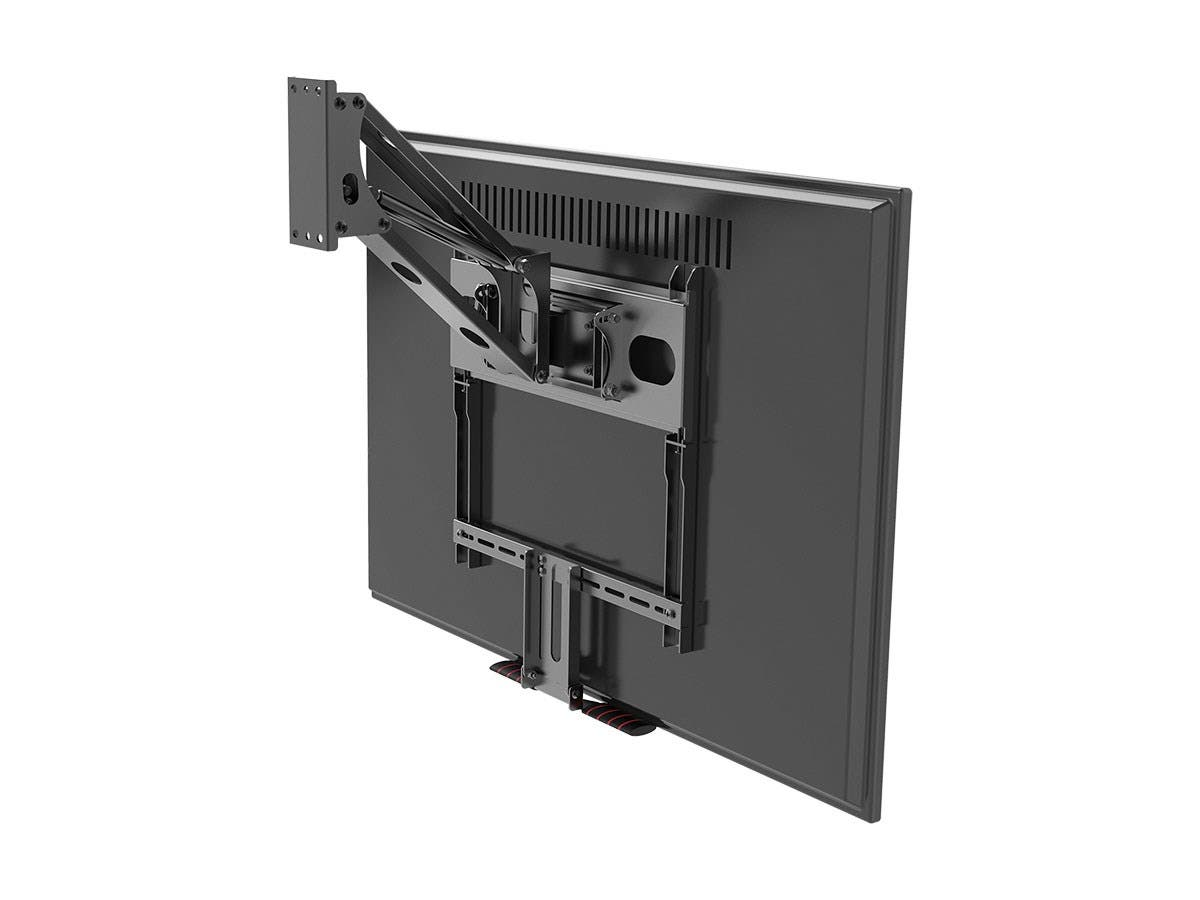Monoprice Above Fireplace Pull Down Full Motion Articulating Tv Wall Mount Bracket