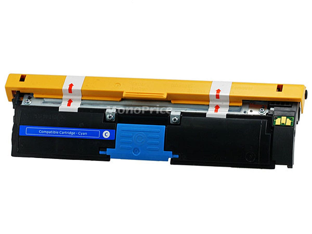 Monoprice 113R00693 Remanufactured Laser Toner Cartridge for XEROX Phaser 6120 (Cyan) printers-Large-Image-1