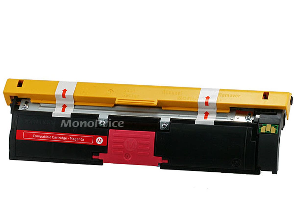 Monoprice 113R00695 Remanufactured Laser Toner Cartridge for XEROX Phaser 6120 (Magenta) printers-Large-Image-1