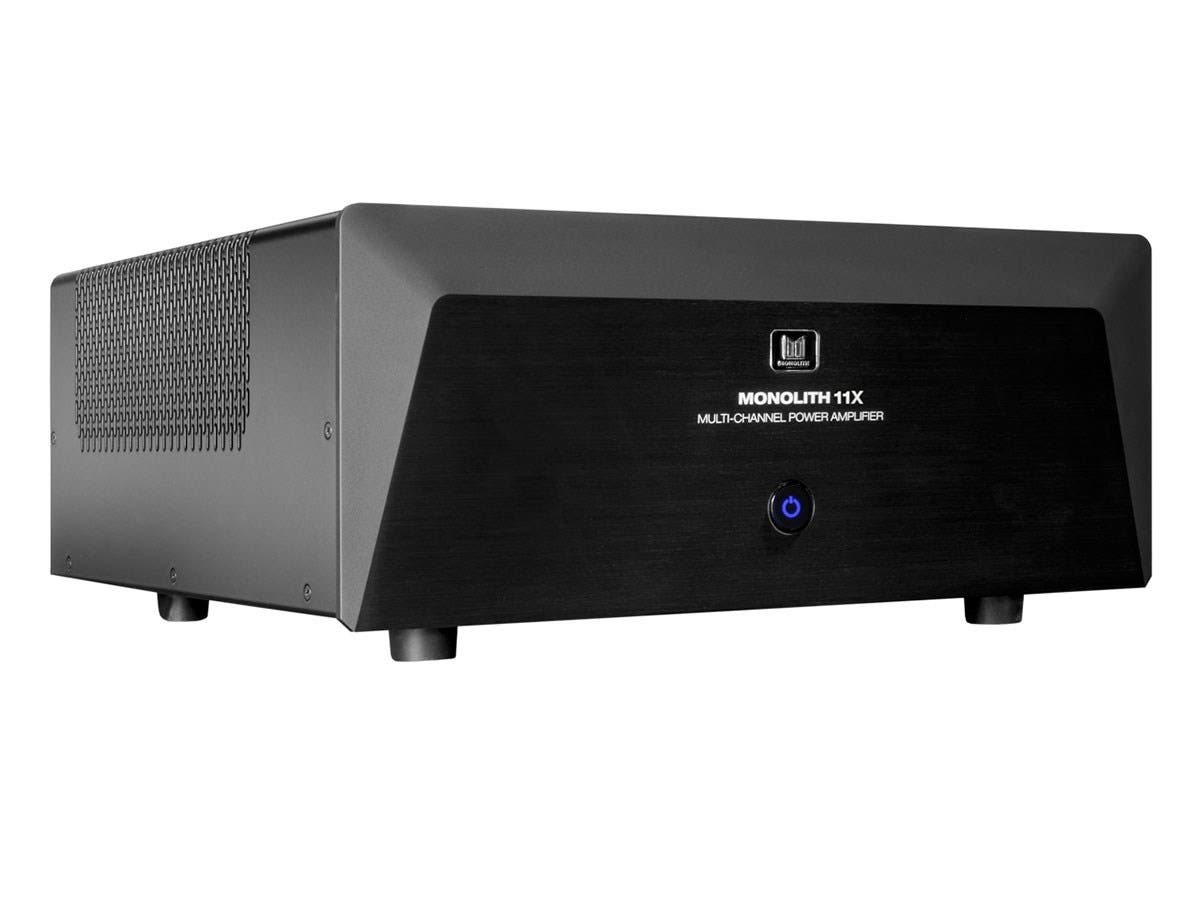 Monolith by Monoprice 11 Channel (3x200 + 8x100 Watts) Multi-Channel Home Theater Power Amplifier with XLR Inputs-Large-Image-1