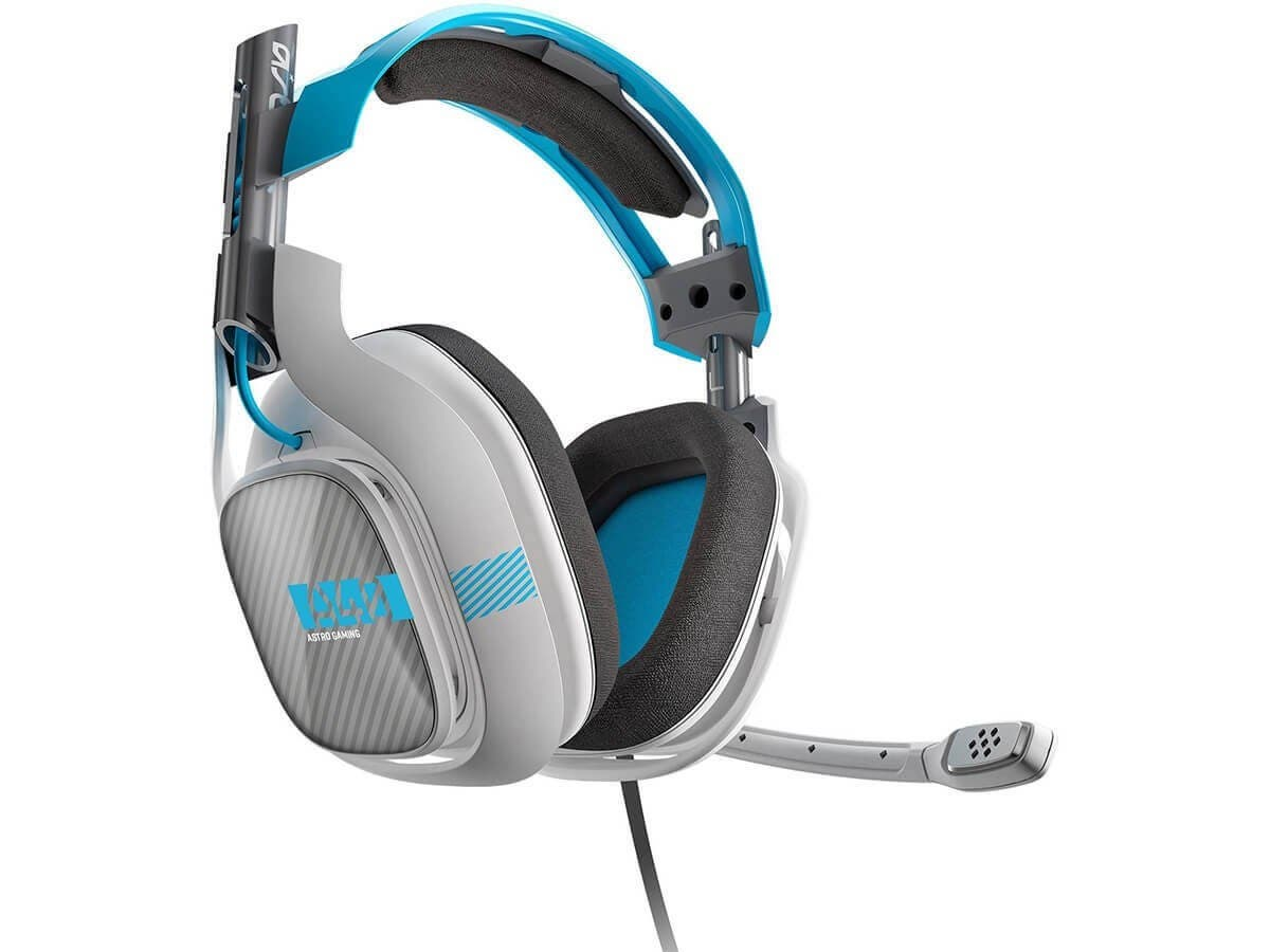 ASTRO Gaming A40 Headset + Mixamp M80 - Light Grey/Blue - Xbox One ...