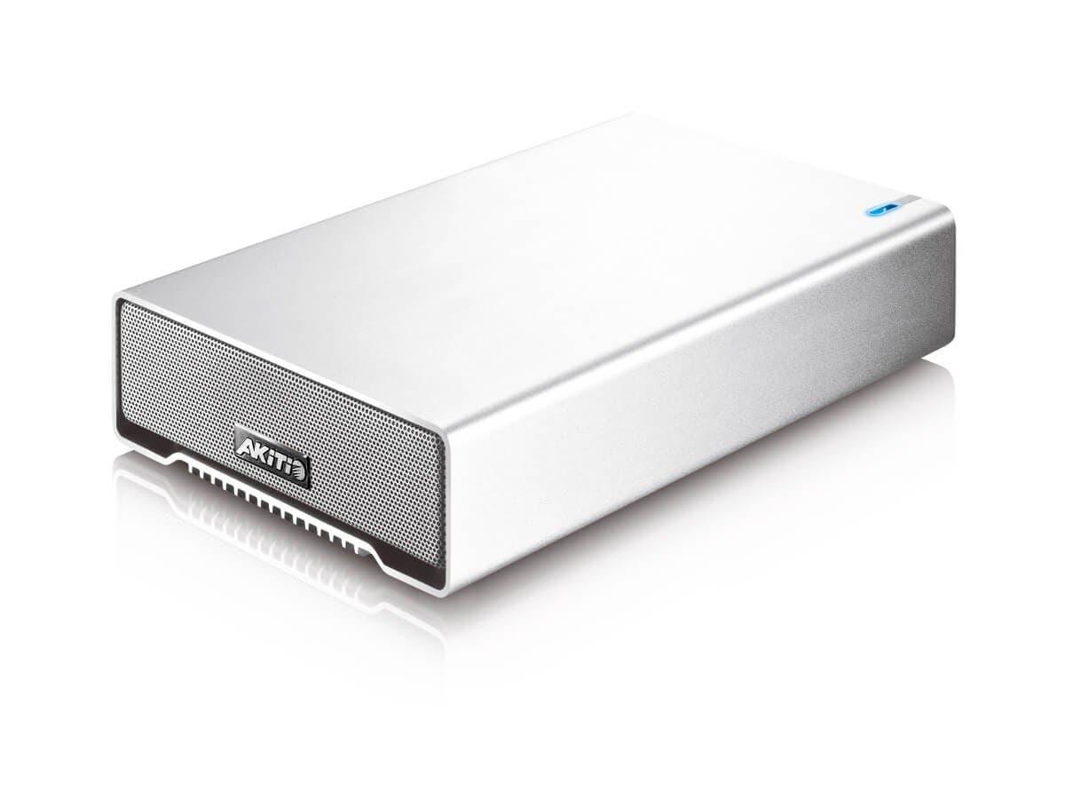 "AKiTiO SK-3501 U3, Single Bay 3.5"" SATA USB 3.0 HDD Enclosure, 1x USB-B 3.0 Port, USB Cable Included (Enclosure Only)-Large-Image-1"