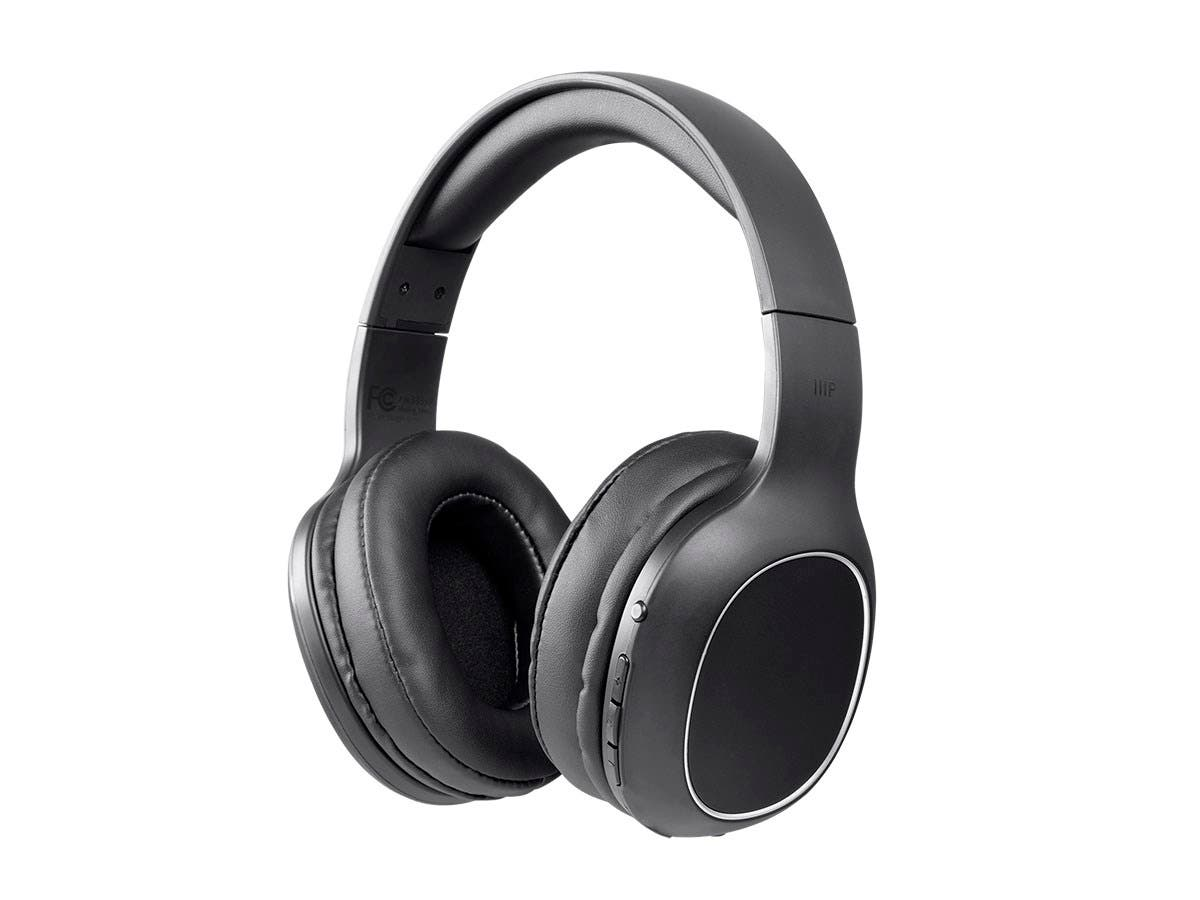 1ff7f6757f23df Monoprice BT-200 Lightweight Bluetooth Over Ear Headphone-Large-Image-1