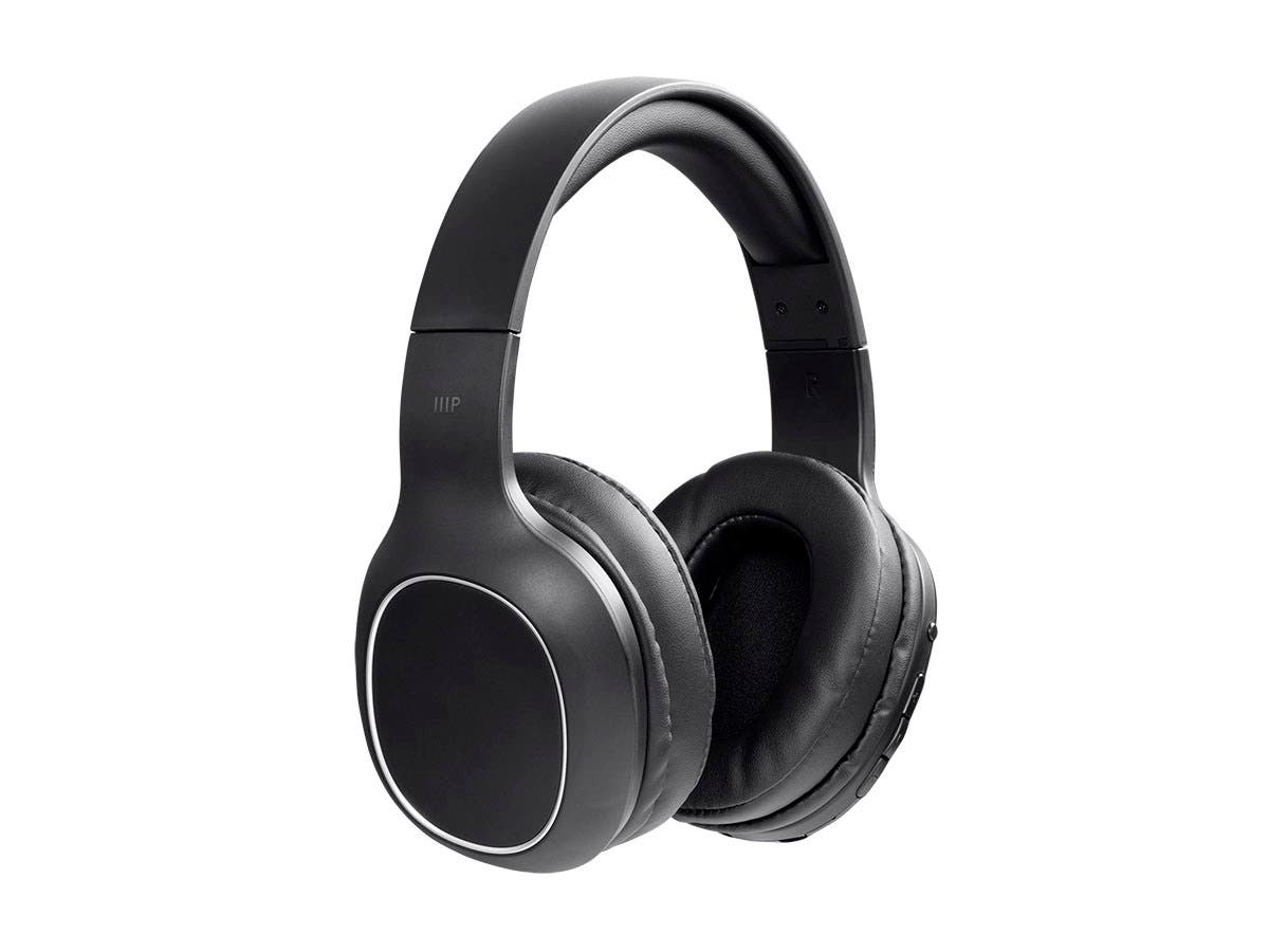 83d1535e9d616a Monoprice BT-200 Lightweight Bluetooth Over Ear Headphone-Small-Image-2