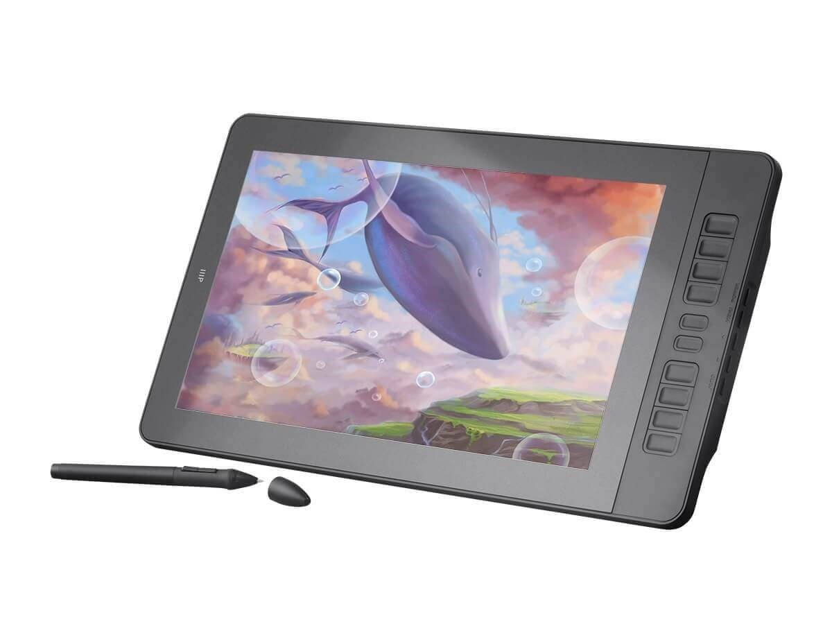 "Monoprice MP USB Powered 15.6"" IPS FHD Graphic Pen Display Tablet HDMI (Open Box)-Large-Image-1"