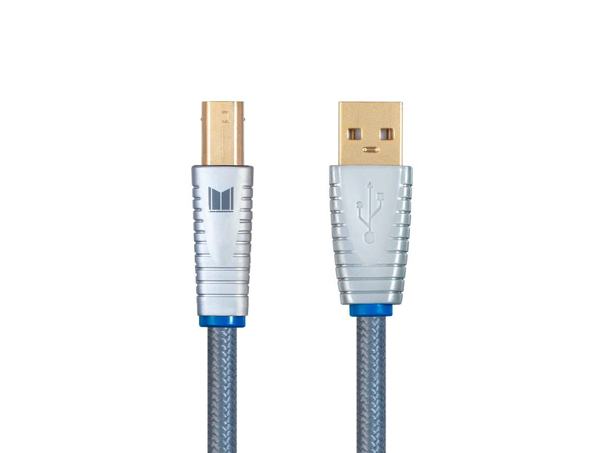 Monolith by Monoprice USB Digital Audio Cable - USB A to USB B, 1m-Large-Image-1