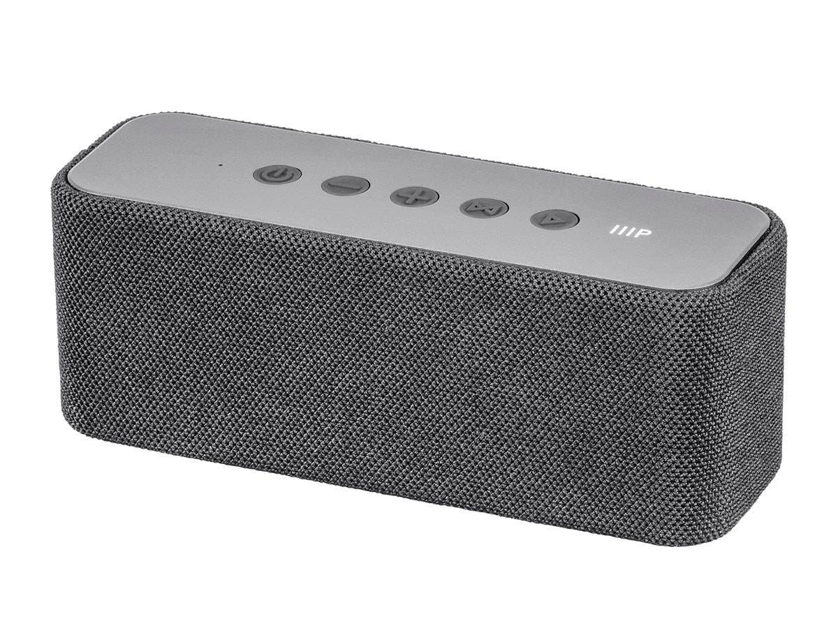 Monoprice Harmony 20 Watt True Wireless Stereo Tws Portable Wire Harness Bluetooth Speaker Large
