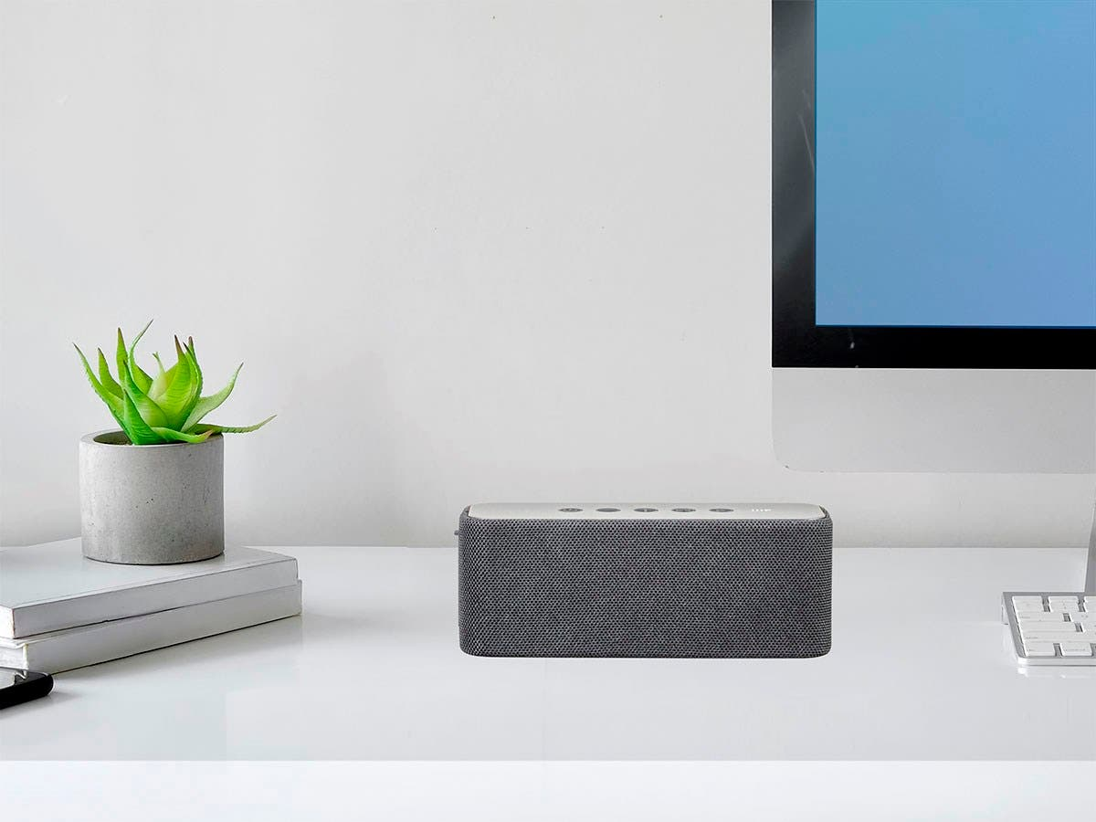 Monoprice Harmony 20 Watt True Wireless Stereo Tws Portable Wire Harness Bluetooth Speaker Small