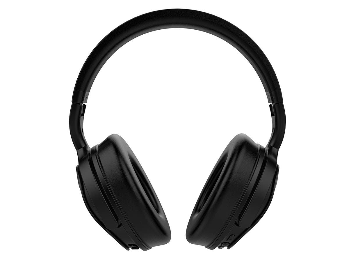 7aa55bf900f Monoprice BT-300ANC Bluetooth with aptX Wireless Over Ear Headphones with Active  Noise Cancelling (