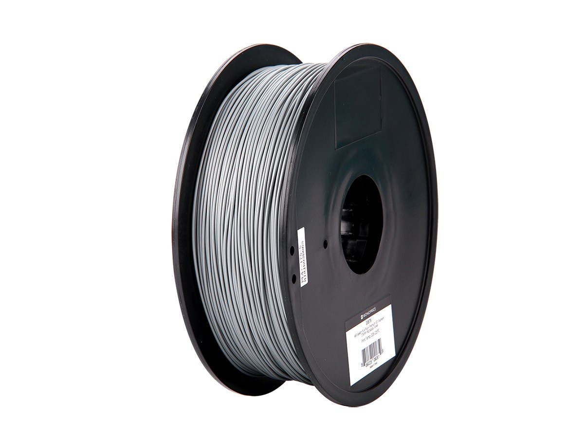 Black 1 kg 1.75 mm Premium 3D Filament Monoprice 115833 MP Select PLA Plus
