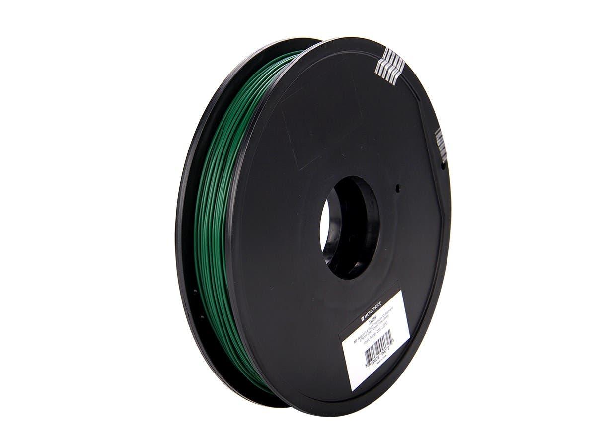 Monoprice MP Select PLA Plus+ Premium 3D Filament 1.75mm 0.5kg/spool, Pine Green-Large-Image-1