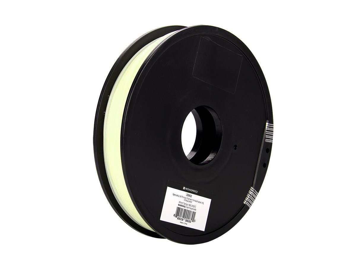 Monoprice MP Specialty 3D Printer Filament Smoothable 1.75, 0.5kg/spool-Large-Image-1