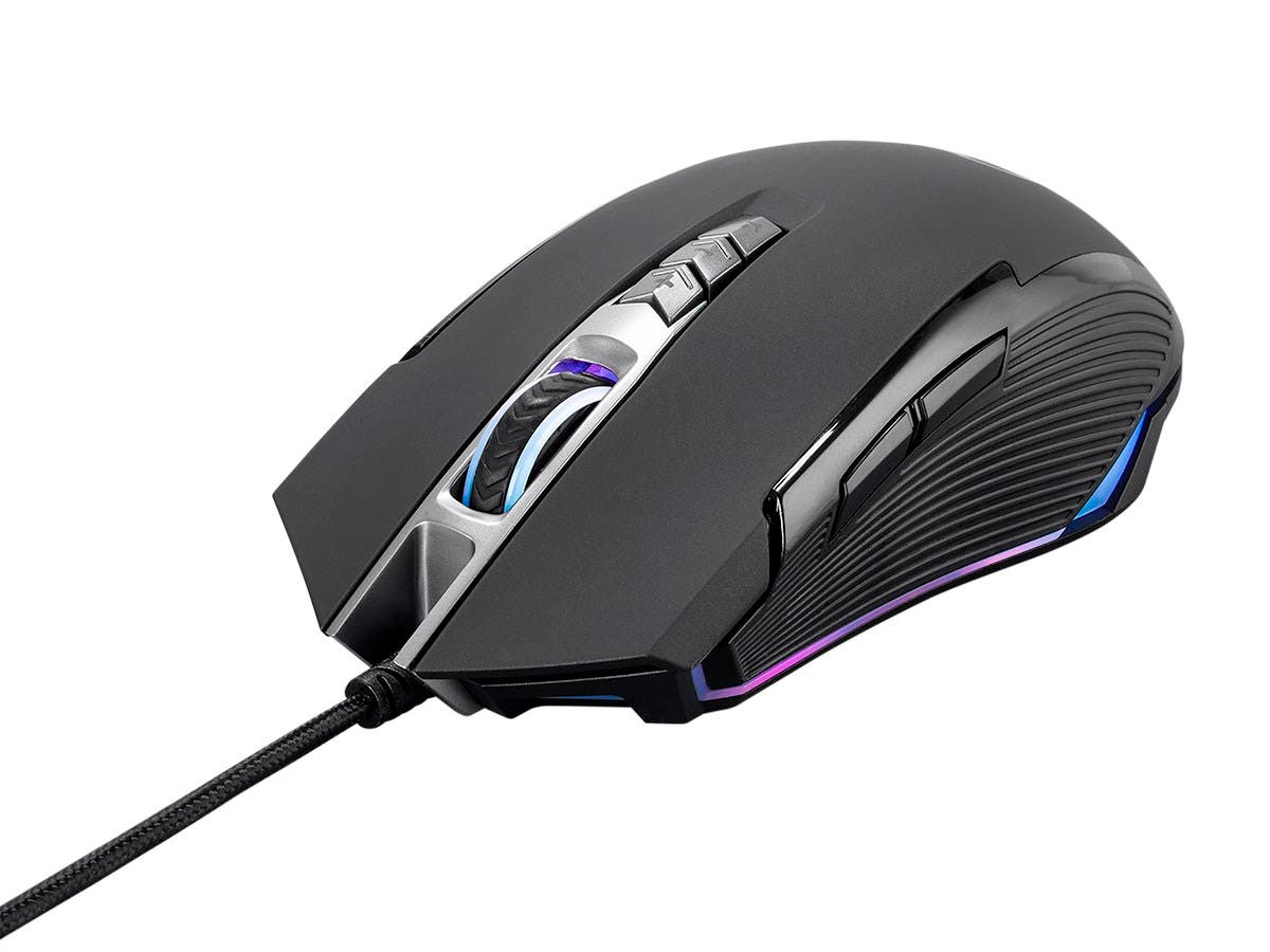 Blackbird Gaming by Monoprice MP93 Optical Gaming Mouse - 5,000DPI, RGB-Large-Image-1