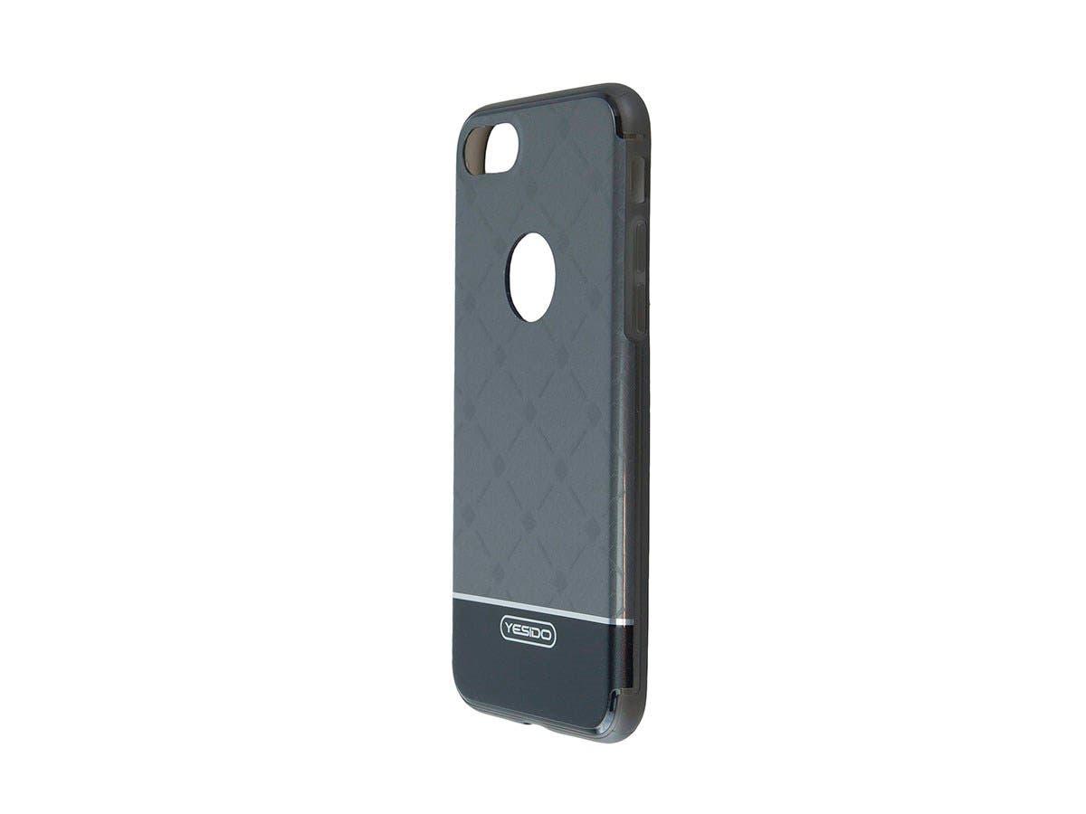TPU+IML Black Color hard case for Apple Iphone 7-Large-Image-1