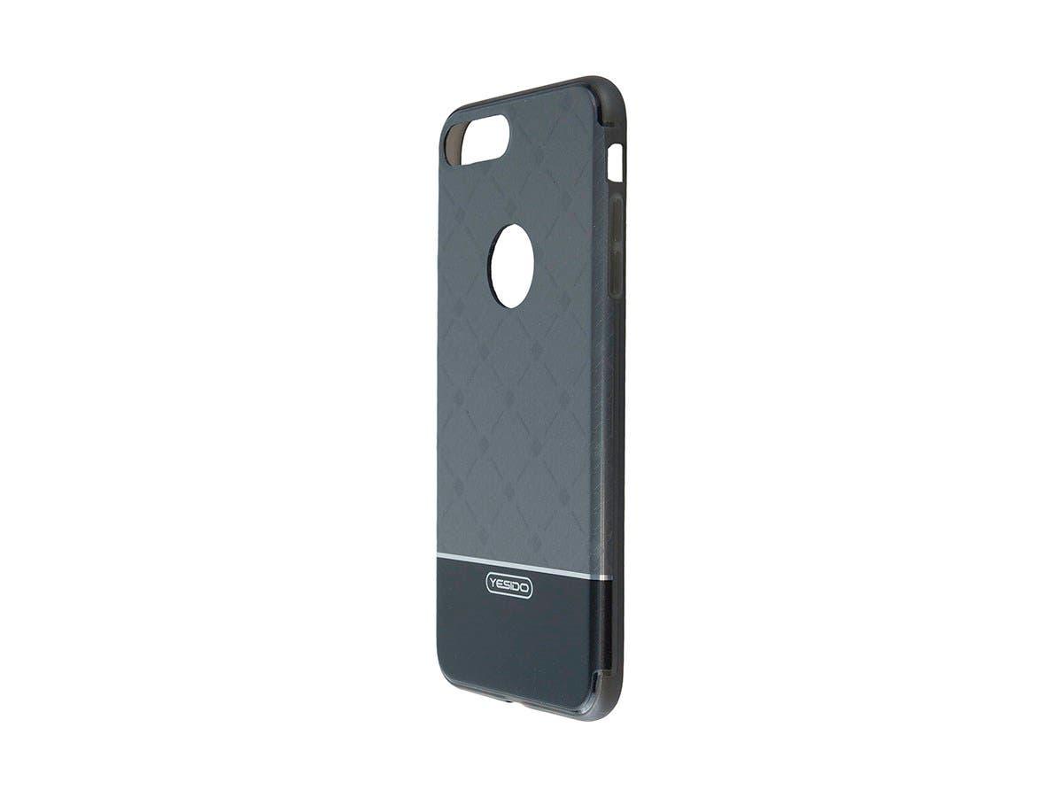 TPU+IML Black Color hard case for Apple Iphone 7 Plus-Large-Image-1