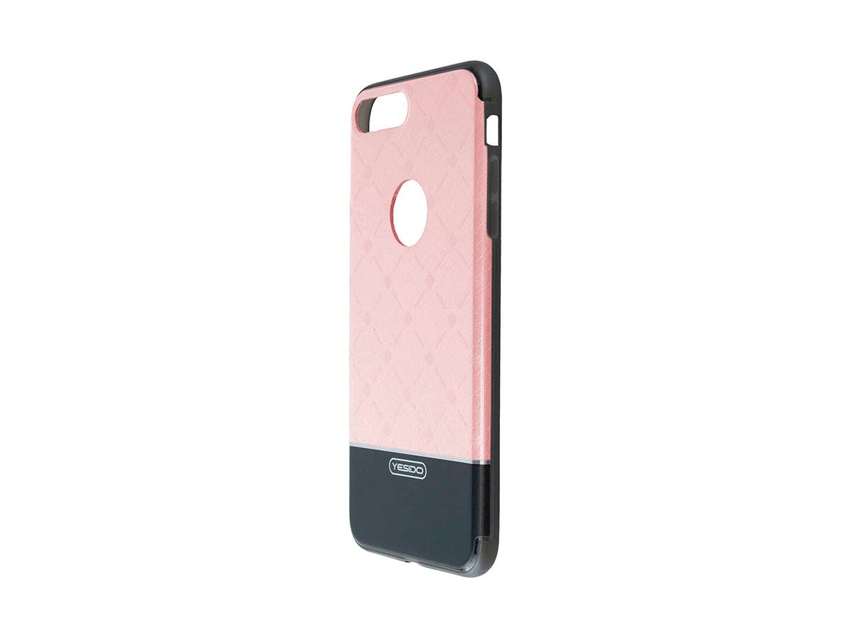 TPU+IML Pink Color hard case for Apple Iphone 7 PLUS-Large-Image-1