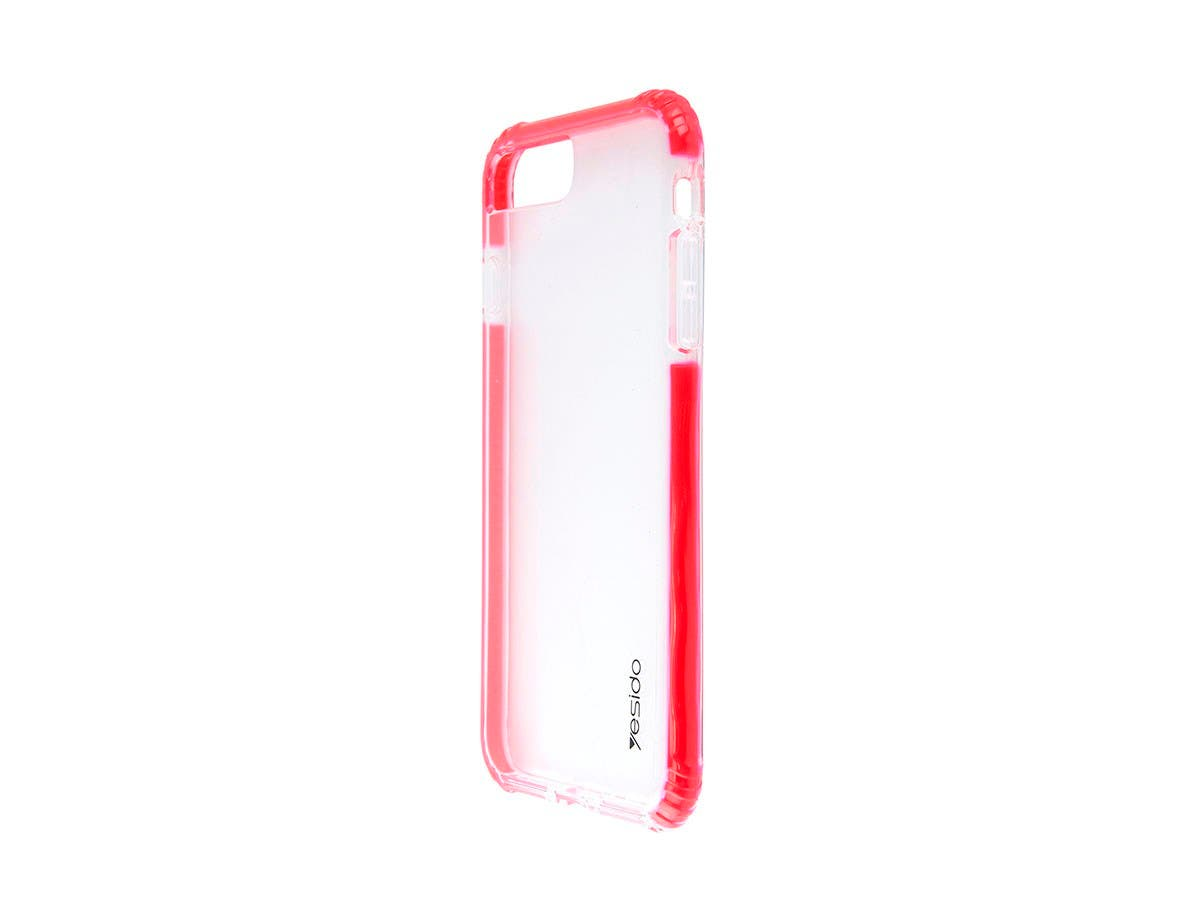 TPU+TPE Red and Clear Color Smartphone case for Apple Iphone 8 PLUS-Large-Image-1