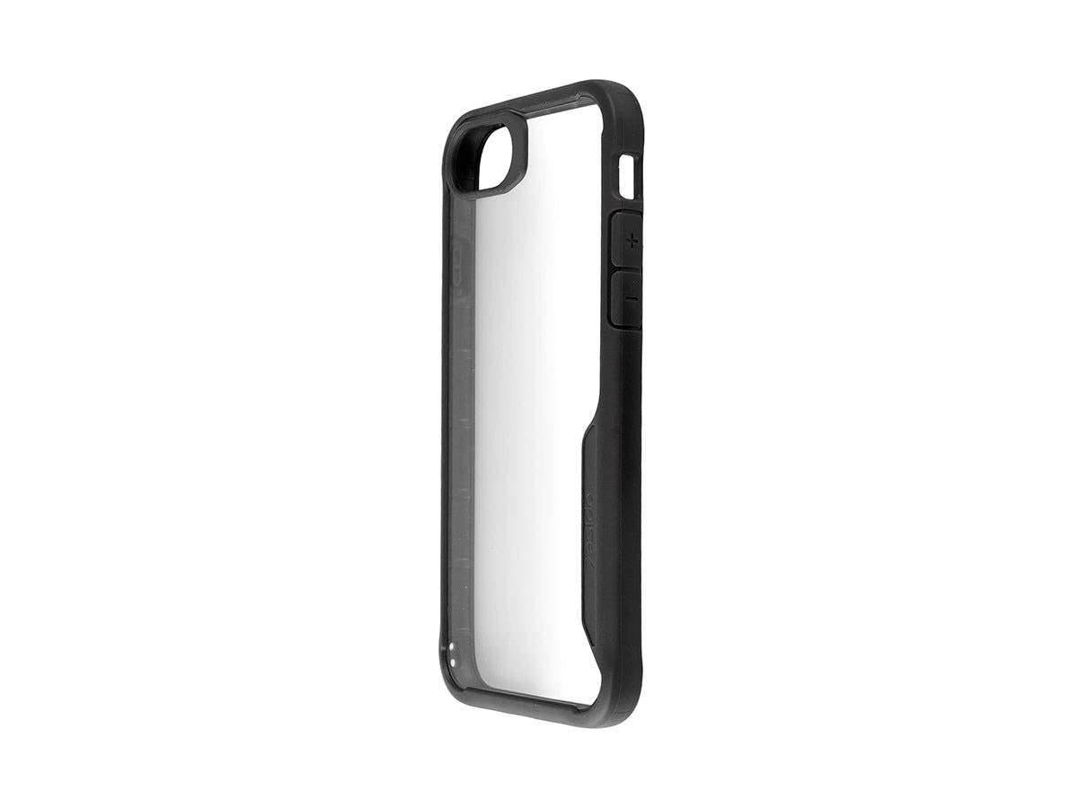 Shockproof Protective case Black + Transparent Clear Anti-Slip for iPhone 7-Large-Image-1