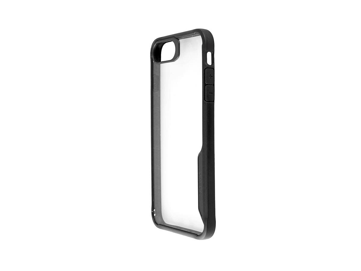 Shockproof Protective case Black + Transparent Clear Anti-Slip for iPhone 7 PLUS-Large-Image-1