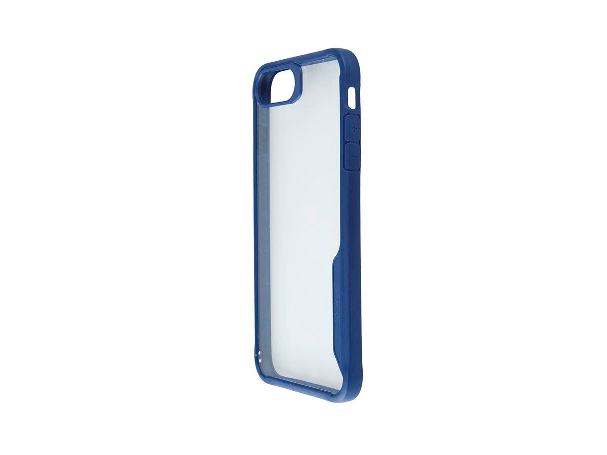 Shockproof Protective case Blue + Transparent Clear Anti-Slip for iPhone 8 PLUS-Large-Image-1