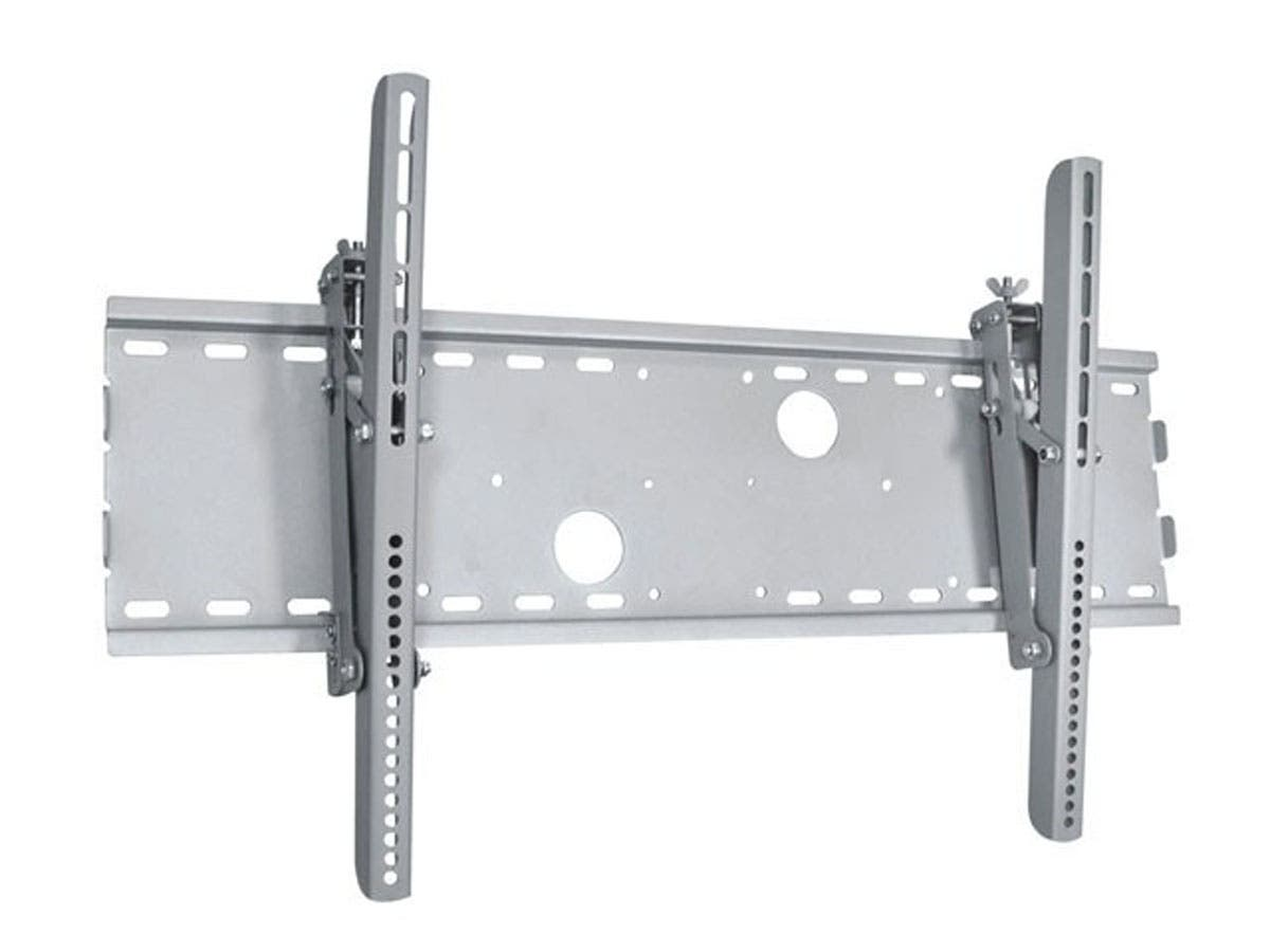 Titan Series Extra Wide Tilt Wall Mount for Extra Large 37~70in TVs up to 165 lbs, Silver UL Certified