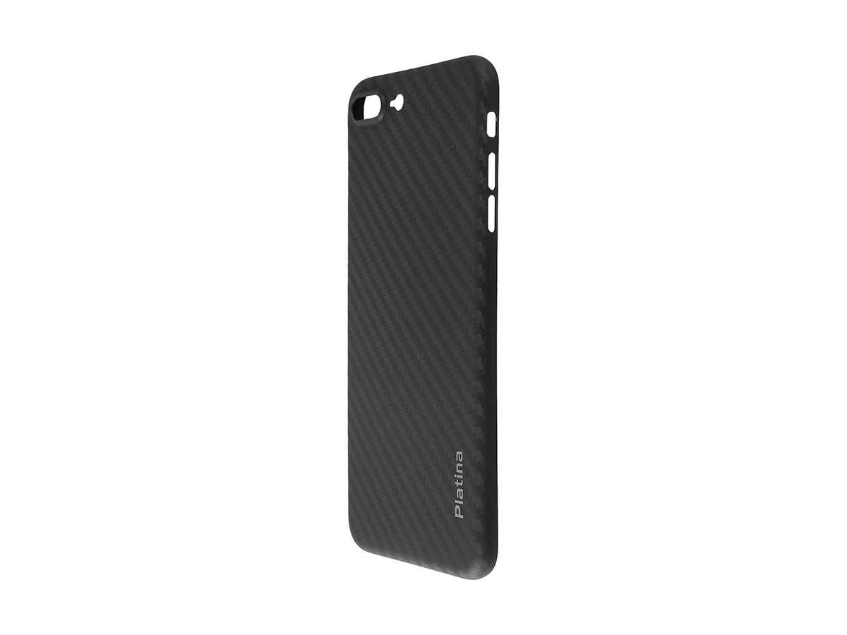 Durable Break Resistant Armor case Black Carbon Style Shockproof iphone 7 PLUS-Large-Image-1