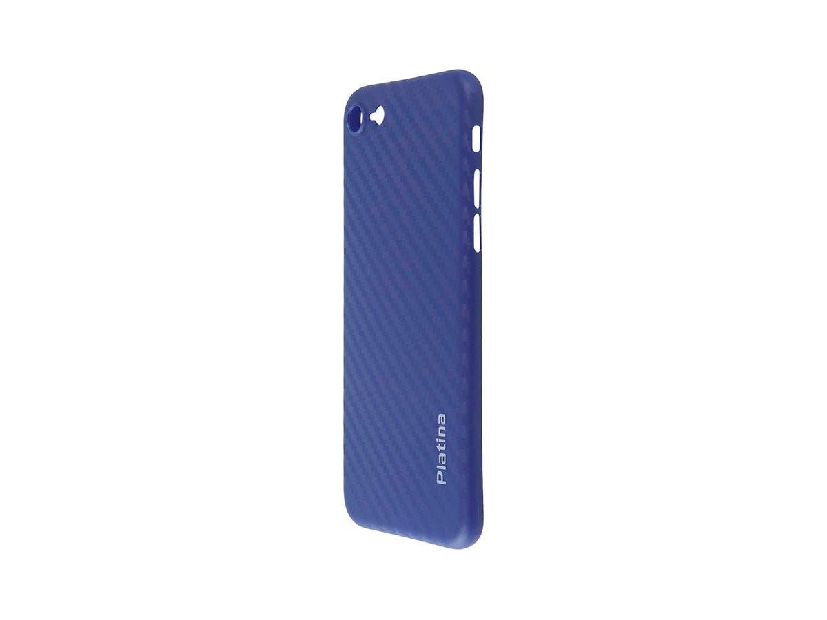 Durable Break Resistant Armor case Blue Carbon Style Shockproof iphone X-Large-Image-1