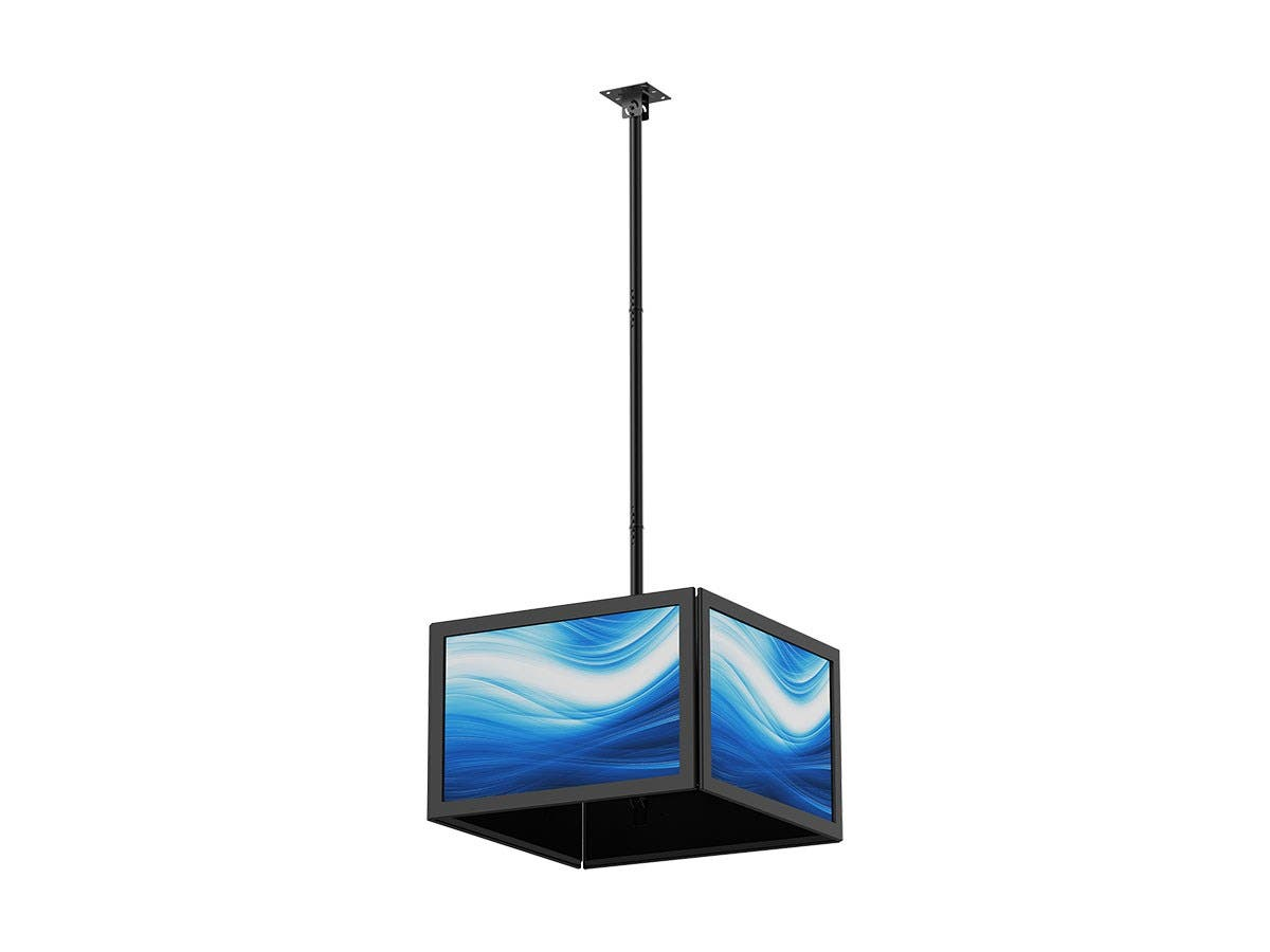 Monoprice Commercial Series Quad Sided Ceiling TV Mount
