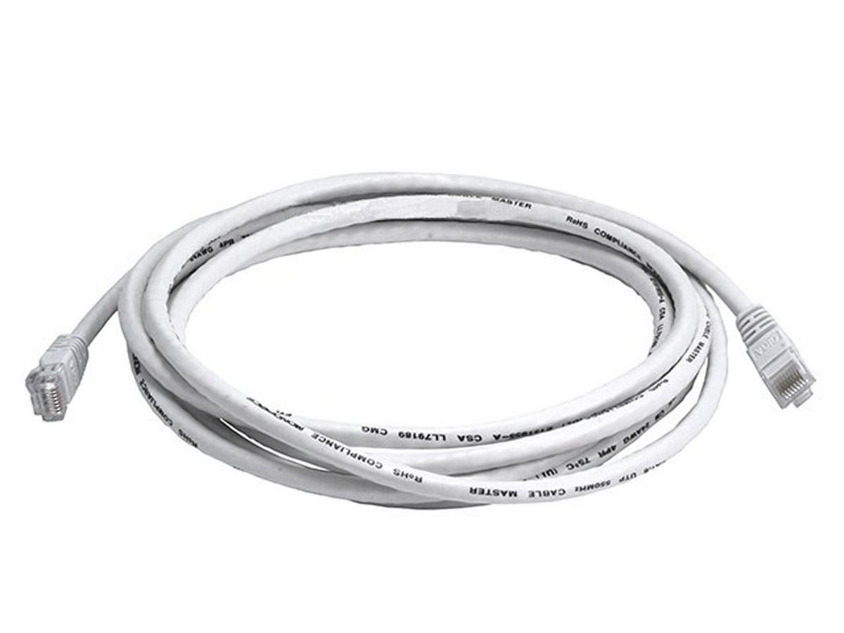 Cat6 24AWG UTP Ethernet Network Patch Cable, 10ft White